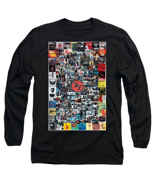 Extraordinary Hero Collage Long Sleeve T-Shirt