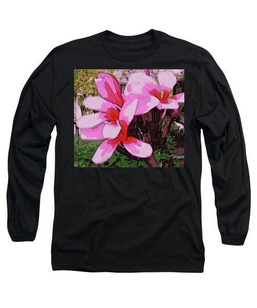 Long Sleeve T-Shirt featuring the digital art Exuberance by Winsome Gunning