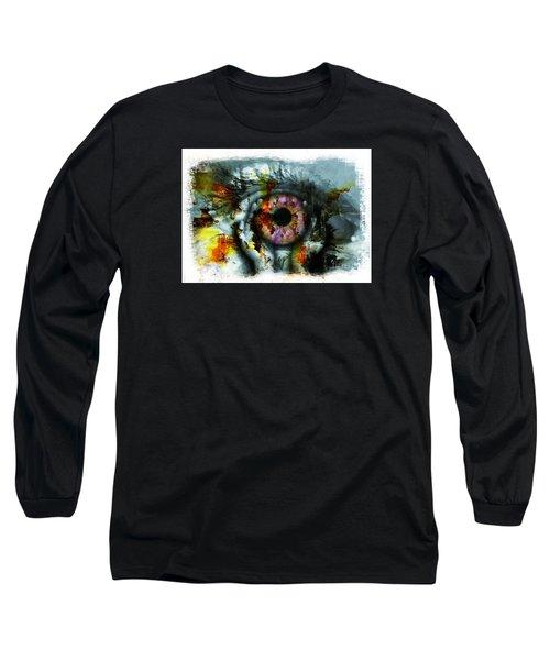 Eye In Hands 001 Long Sleeve T-Shirt