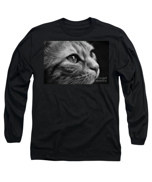 Eye Of The Cat Long Sleeve T-Shirt