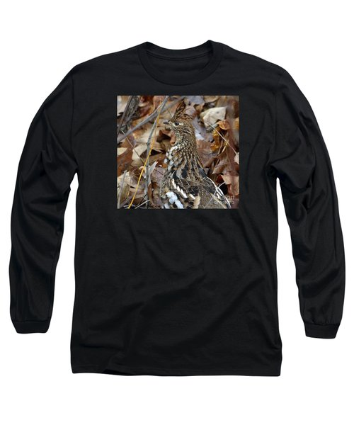 Eye Of The Rugr Long Sleeve T-Shirt by Randy Bodkins