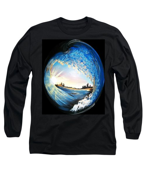Eye Of The Wave Long Sleeve T-Shirt