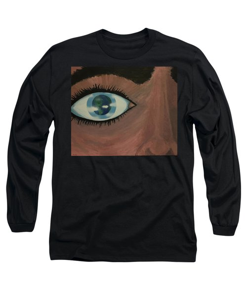 Eye Of The World Long Sleeve T-Shirt by Thomas Blood
