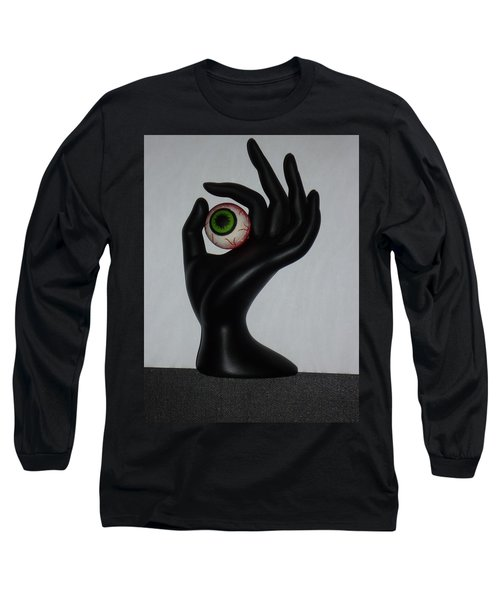 Eyehand Long Sleeve T-Shirt by Douglas Fromm