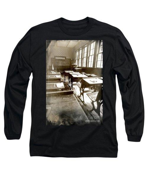 Eyes Front Long Sleeve T-Shirt by Randall Cogle