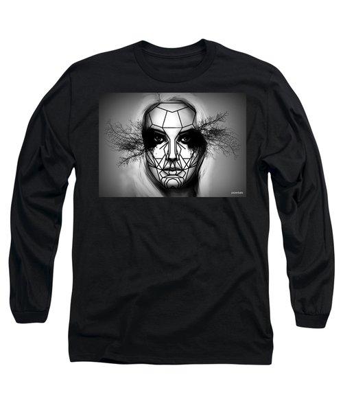 Eyes Tell The Truth Long Sleeve T-Shirt by Paulo Zerbato