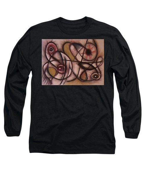 Eyes Watching Long Sleeve T-Shirt