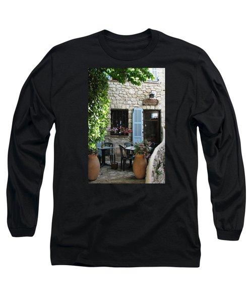 Eze Cobblestone Patio Long Sleeve T-Shirt