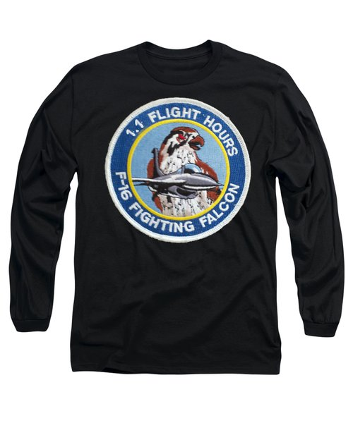 F-16 Ride Patch Long Sleeve T-Shirt