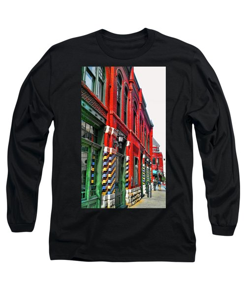 Facade Of Color Long Sleeve T-Shirt