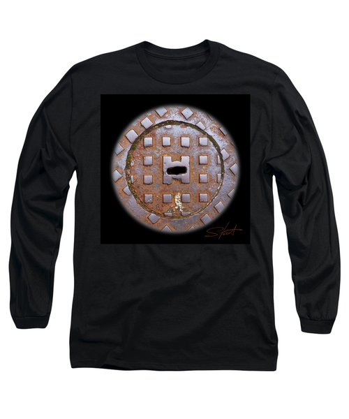 Face 2 Long Sleeve T-Shirt by Charles Stuart