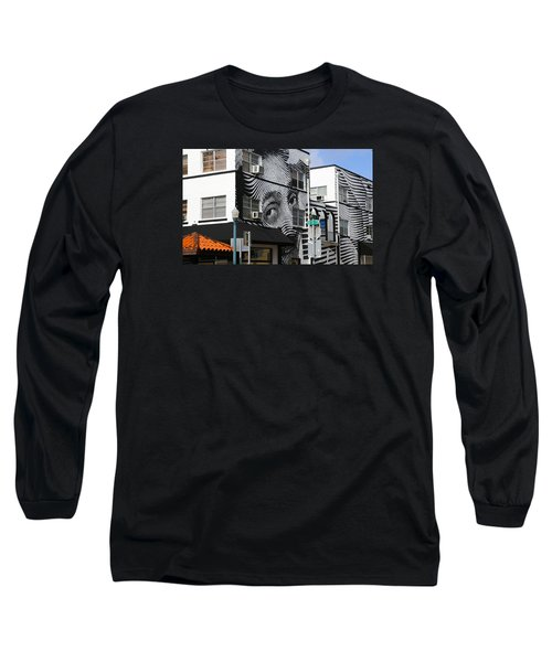 Face Building Long Sleeve T-Shirt