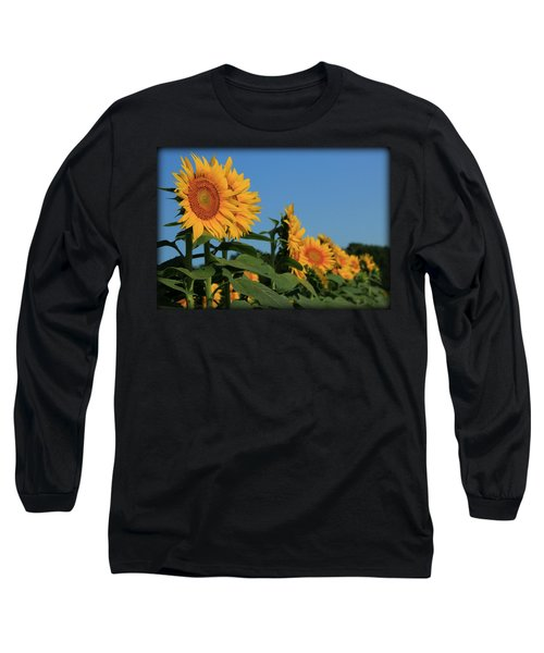 Long Sleeve T-Shirt featuring the photograph Facing East by Chris Berry