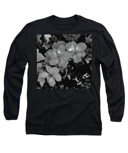 Faded Flowers Long Sleeve T-Shirt