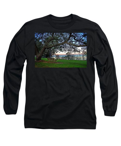 Fairhope Swing On The Bay Long Sleeve T-Shirt