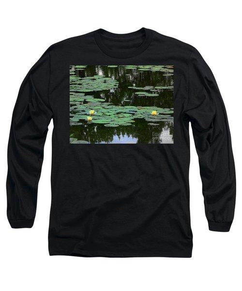 Fairmount Park Lily Pond Long Sleeve T-Shirt