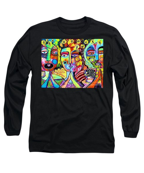 Faith Hope And Charity Long Sleeve T-Shirt