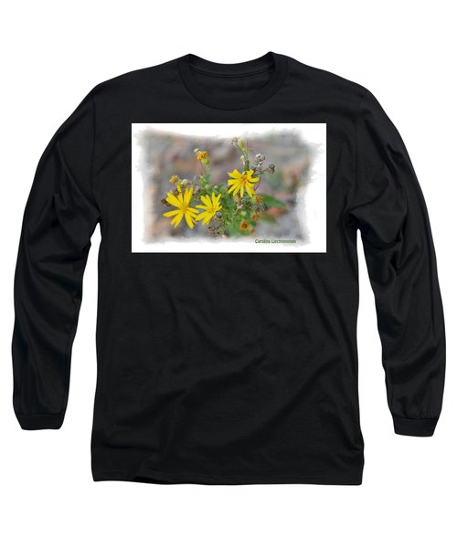 Fall Bloom In Texas I Long Sleeve T-Shirt