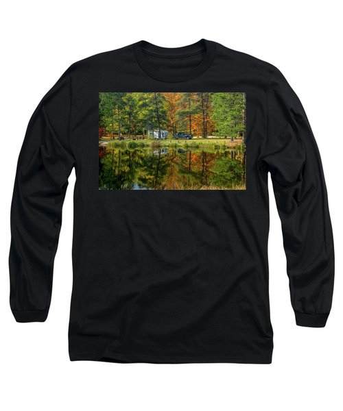 Fall Camping Long Sleeve T-Shirt