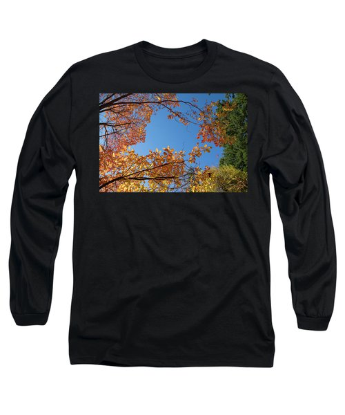 Fall Colors In Hoyt Arboretum Long Sleeve T-Shirt