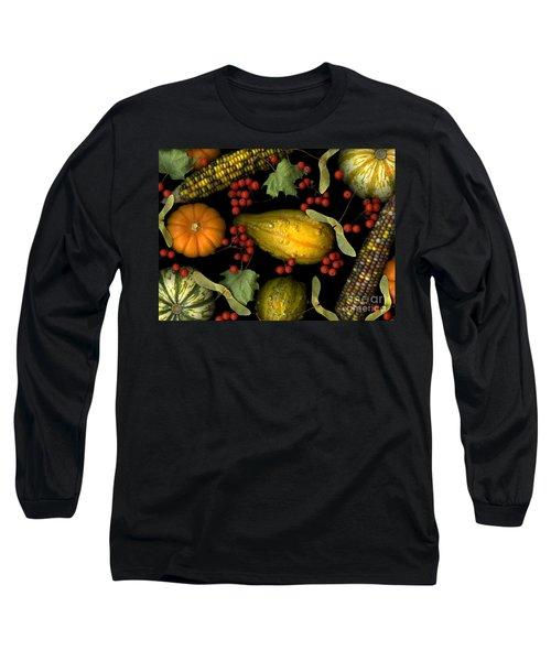 Fall Harvest Long Sleeve T-Shirt by Christian Slanec