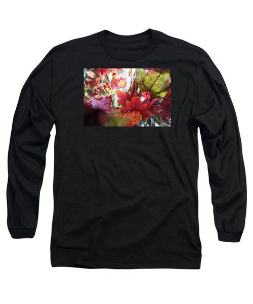 Fall Leaves Design 2 Long Sleeve T-Shirt