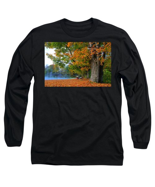 Fall Morning In Jackson Long Sleeve T-Shirt