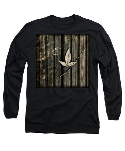 Fallen Leaf Long Sleeve T-Shirt by John Edwards