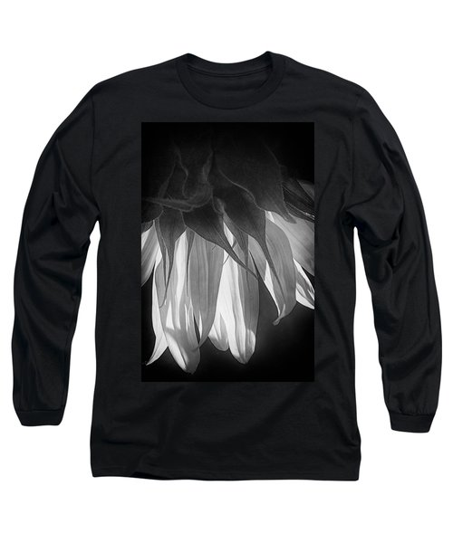 Falling Monochrome  Long Sleeve T-Shirt