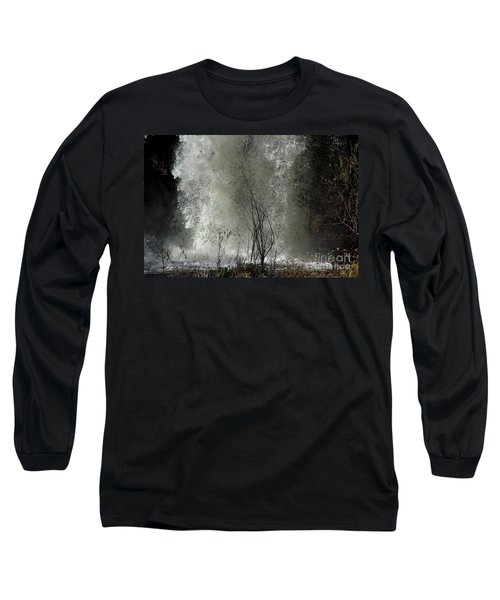 Long Sleeve T-Shirt featuring the photograph Falling Waters by Vicki Pelham