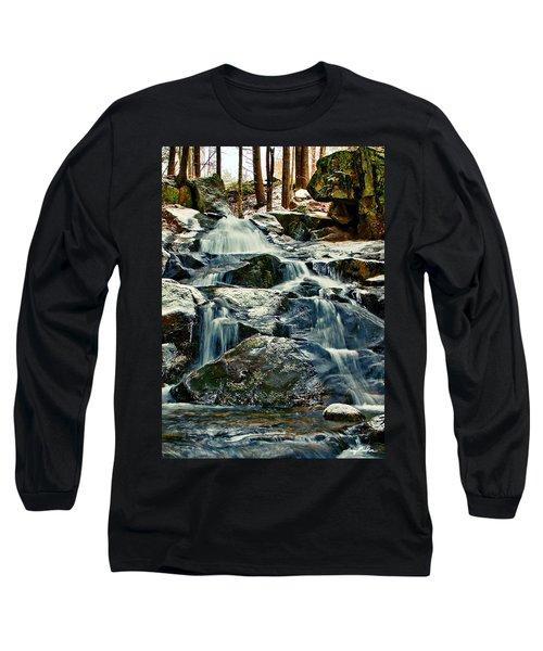 Falls Of Fogg Brook Long Sleeve T-Shirt