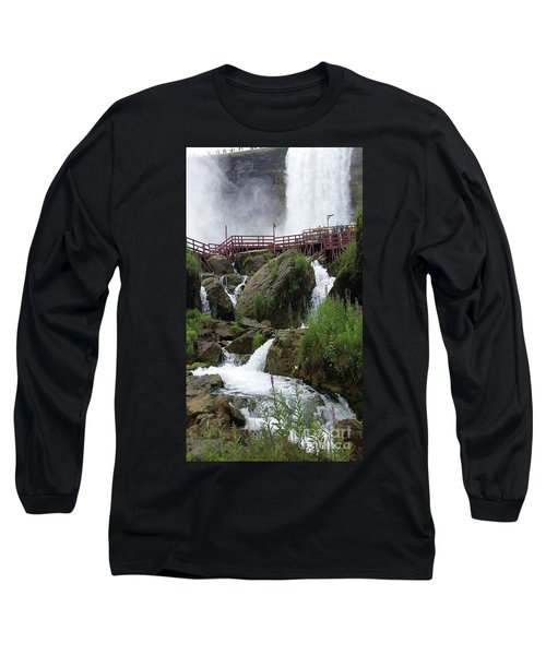 Long Sleeve T-Shirt featuring the photograph Falls by Raymond Earley
