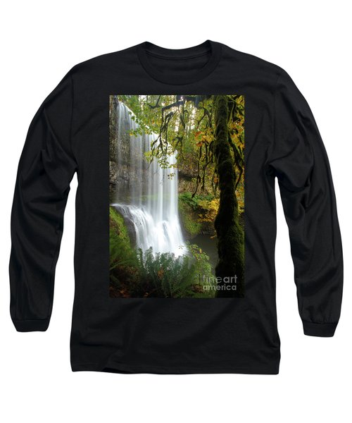 Falls Though The Trees Long Sleeve T-Shirt
