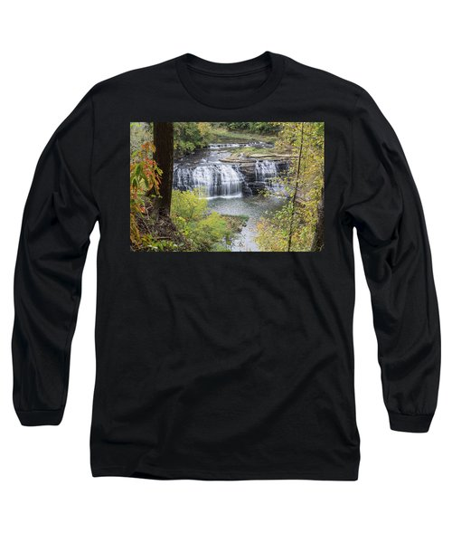 Falls Through The Trees Long Sleeve T-Shirt