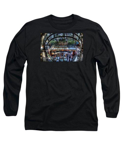 Falls View Long Sleeve T-Shirt by Jim Lepard