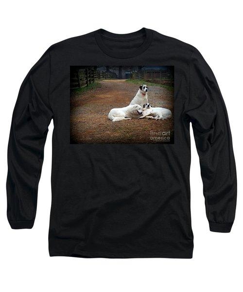 Family Portrait Long Sleeve T-Shirt