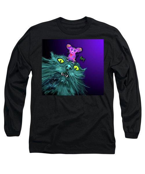Fang And Meep  Long Sleeve T-Shirt by DC Langer