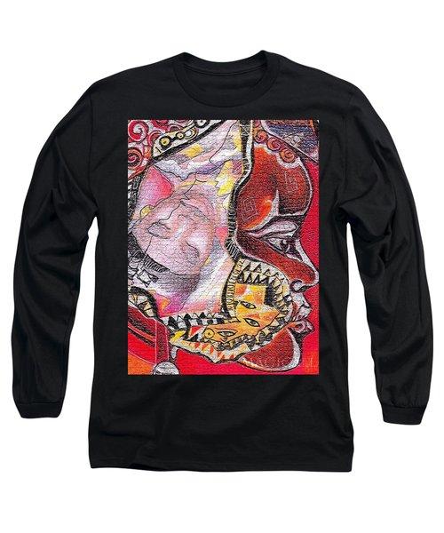 Fantasy Face Long Sleeve T-Shirt