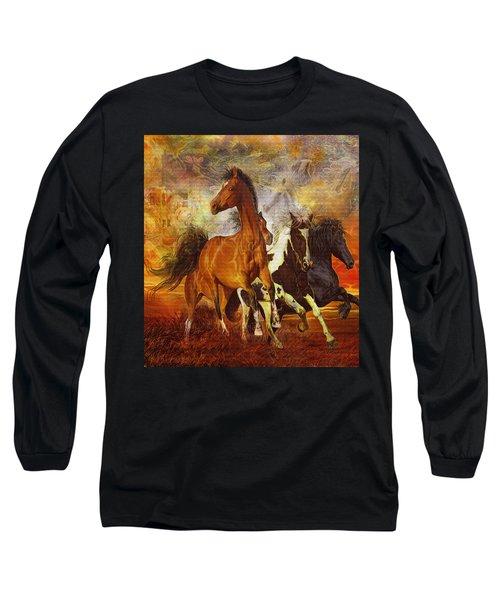 Fantasy Horse Visions Long Sleeve T-Shirt