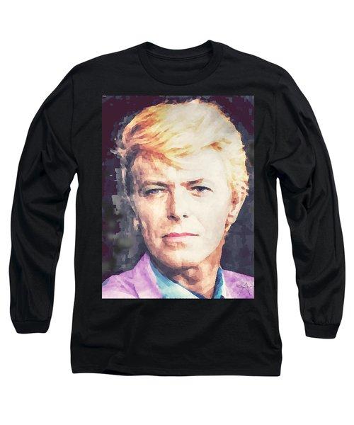 Farewell David Bowie Long Sleeve T-Shirt