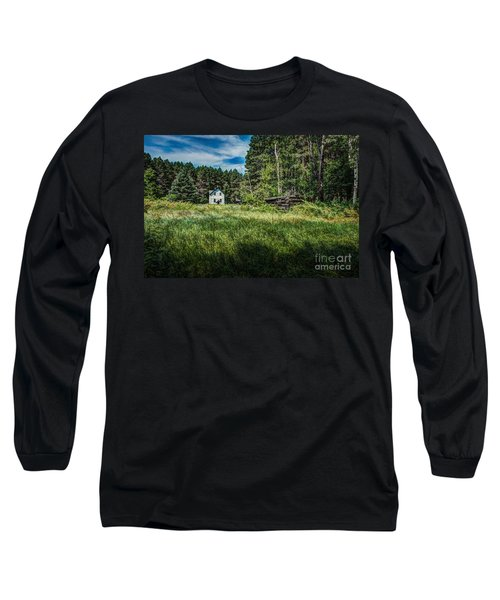 Farm In The Woods Long Sleeve T-Shirt