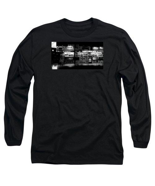 Fast Food Long Sleeve T-Shirt by David Gilbert