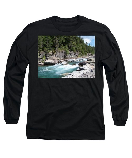 Fast River Long Sleeve T-Shirt