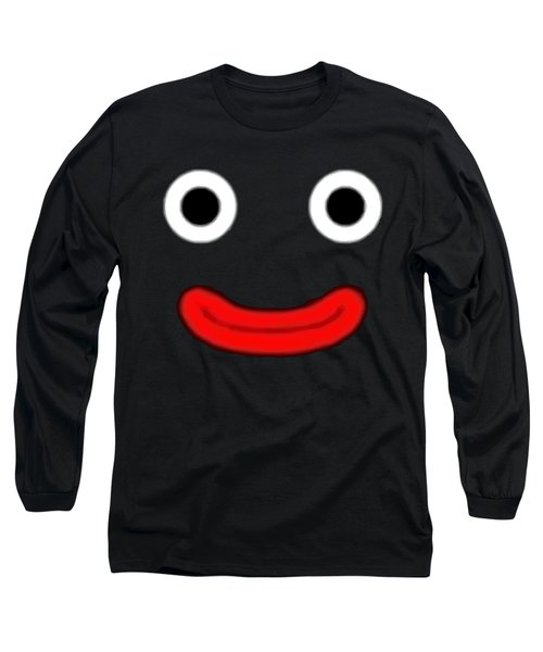 Fat Black Long Sleeve T-Shirt by Opoble Opoble