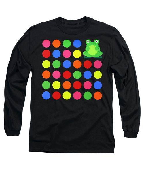 Discofrog Remix Long Sleeve T-Shirt by Oliver Johnston
