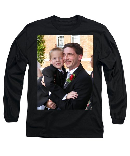 Father And Son Long Sleeve T-Shirt by Adam Cornelison