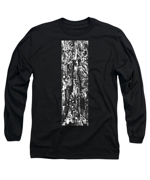 Long Sleeve T-Shirt featuring the painting Father by Carol Rashawnna Williams