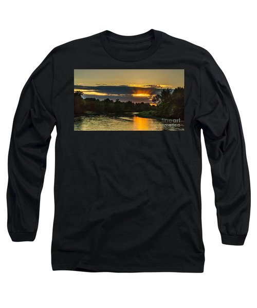 Father's Day Sunset Long Sleeve T-Shirt by Robert Bales