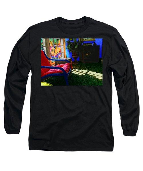 Faux Fauve Interior Long Sleeve T-Shirt