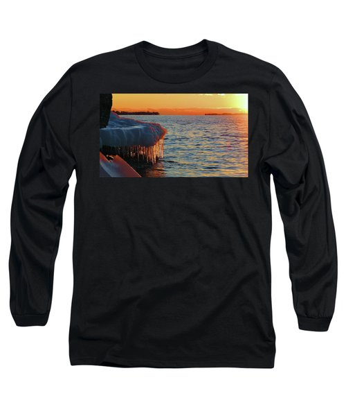 Feburary Sunset Cape Vincent Long Sleeve T-Shirt